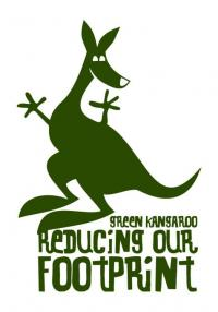 Community sustainability program –: Symbol indicating individual responsible sustainable action by a Kangaroo Valley tourism business